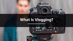 Online courses - Vlogging by Tony de Bree