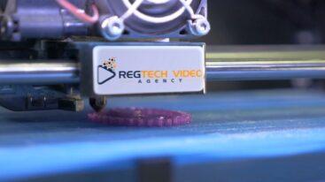 RegTech Video Agency - 3D-Printer Logo Reveal Video