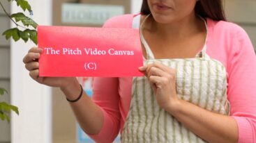 The Pitch Video Canvas© by Tony de Bree
