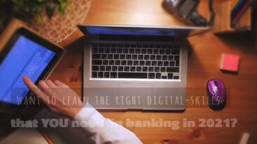Digital Right-Skilling in banking-program by Tony de Bree
