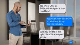 Text-story FinTech Video Agency - Tony de Bree